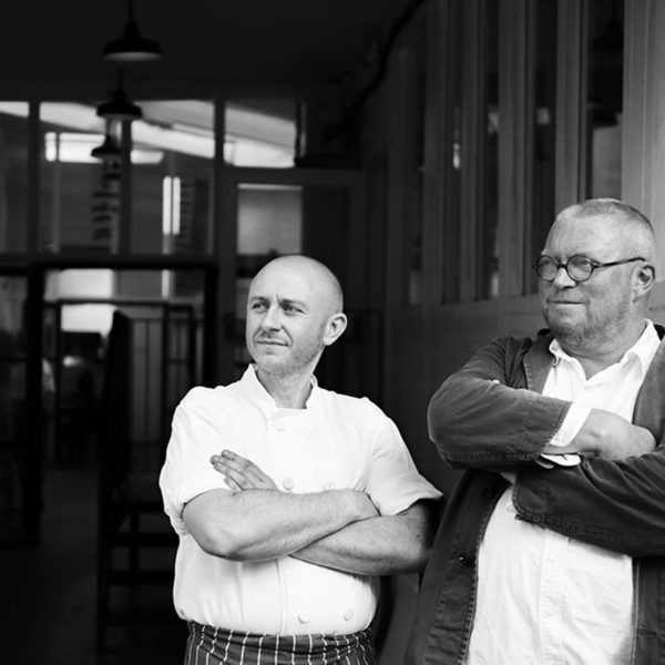 Fergus Henderson (right)